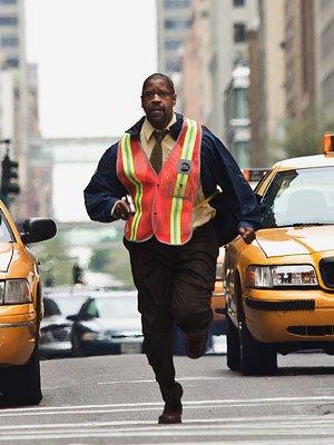 "Denzel Washington en ""Asalto al tren Pelham 123"""