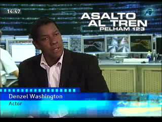 "Denzel Washington en ""Vivir de cine"""